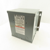 Square D 1.5S1F 1.5KVA 1PH General Purpose Transformer 240/480HV 120/140LV 60Hz