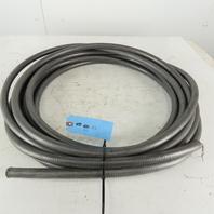 "Liquatite 1/2"" Flexible Metal Conduit EMT PVC Jacket 50'"
