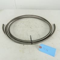 "5/16 ID x 7/16"" OD  Stainless Steel Braded PTFE Teflon Liner Fuel Hose 17'"