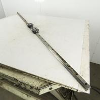 """24mm Profile Linear Rail Bearings 63"""" OAL"""