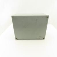 "Hoffman 10 x 8 x 4"" Type 12, 13 Electrical Enclosure Junction J-Box"