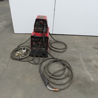 Lincoln Flextec 450 Multi Process Arc Stick Mig Welder LF-74 4-roll Wire Feeder