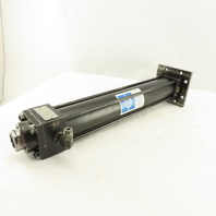 """Milwaukee LH22-12 2"""" Bore 12"""" Stroke 1-3/8"""" Rod Double Acting Hydraulic Cylinder"""