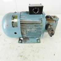 Nachi UVN-1A-1A3-2.2-4-11 2.2kW 1720RPM 3Ph 200/220V Variable Volume Vane Pump
