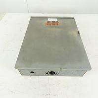 Square D QO Load Center Breaker Panel 3R Enclosure 120/240V 16 Space