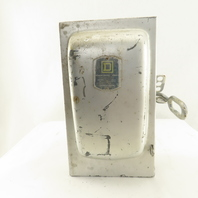 Square D D96352 60A 240V Safety Fused Service Disconnect Switch