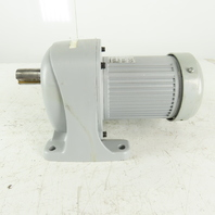 Brother G3L32N120-BML4AX 120:1 Ratio 14RPM Output 1/2Hp 208-460V AC Gear Motor