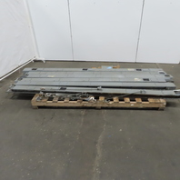 Square D I Line 10' Busway Buss Duct 480V 4 Pole 400A 5 Taps Lot of 6