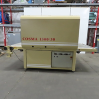 "COSMA 1300/30 Two head Oscillating 51"" Brush Sander Wood Working 480V 3Ph"