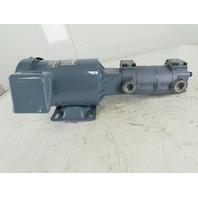 Nippon TOP-2MY750-220HBM+216HB 0.75kW 3Ph 200/220V 2 Stage Trochoid Pump
