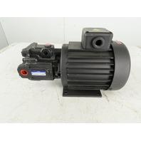 Yuken ARL1-12-FR01S-10 1.5kW 1700/1720RPM 3Ph Pressure Compensator Piston Pump