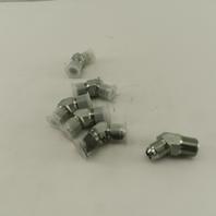 Eaton 9/16-18 (-6) JIC Male X 3/8-18 SAE 45° Elbow Lot Of 6