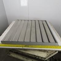 "36"" x 36"" Aluminum Exhaust Louver Backdraft Damper Ventilation Gravity Close"