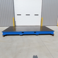 """144""""x72""""x1-1/4"""" Steel Machined Surface Fabrication Layout/Machine Table Top"""