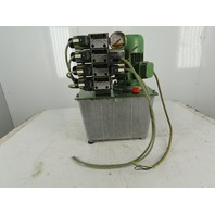 Carpanelli 1459 3 0.37kW 220/440V 50/60Hz 3 Gallon Hydraulic Power Unit