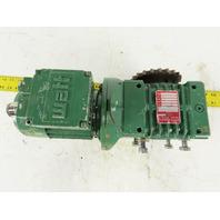 CM 3 Ton Powered Trolley Gearmotor 10:1 Ratio 173RPM 1/4Hp 208-230/460V 36ft/min
