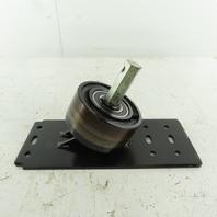 """Conveyor Belt Tracking Roller Frame Assembly 5-1/2"""" Roller"""