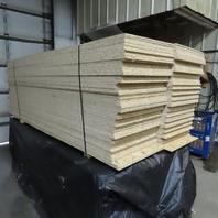 "3/8"" OSB Chip Board 22-1/2"" x 96"" Sheets Sheating Board Bunk Lot of 180 Sheets"