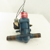 "Parker A8 Flo-Con 1-1/8"" Pressure Regulator R-12, R-22, R-502 24v Coil"