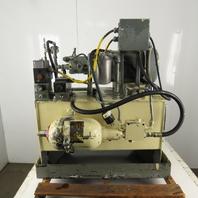 Fauver 3Hp 208-230/480V 3Ph 20 Gallon Hydraulic Power Unit Vickers Pump