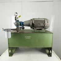 Hi-Power 10Hp Hydraulic Power Unit 40 Gallon 208-230/460V Vickers Valve