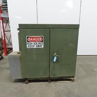 General Electric 300kva  3Ph Distribution Transformer 7200/12470Y/7200-480Y/277