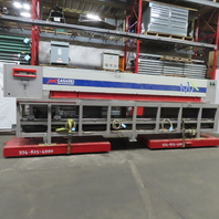"Casadei MX39P Horizontal CNC Panel Beam Saw 144"" x 144"" 460V 3Ph"