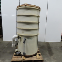 QED EZ Stacker HDPE Low Profile Air Stripper Tower Tank only