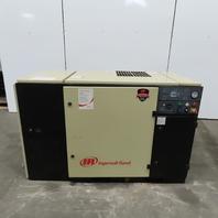 Ingersoll Rand SSR UP6-30-125 30 hp Rotary Screw Air Compressor 200V3Ph W/Dryer
