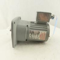 Brother G3F18N050-BMH4AX 50:1 Ratio 34RPM 1/8Hp 208-230/460V 3Ph Gear Motor