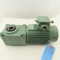 Tsubaki HMTA040-30H15B-TK 15:1 Ratio 120RPM Output .4kW 220V Hypoid Gear Motor