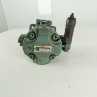 "Nachi VDC-1B-2A3-Q11-U-6064C Variable Volume Vane Hydraulic Pump 3/4"" Shaft"