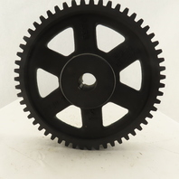 """Martin C555 11.4"""" OD 55T 14.5° Pressure Angle External Tooth Spur Gear"""