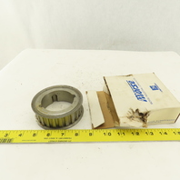 """Emerson TB24H100 Morse 3-3/4"""" OD Timing Belt Pulley 24 Tooth 1"""" Wide TL Bushed"""