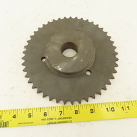 """40B45 7-3/8"""" OD 40 Tooth Chain Sprocket Stock Bore"""