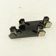 Allen Bradley 1491-N161 Single Pole Class H Fuse Folder 30A 600V Lot Of 2