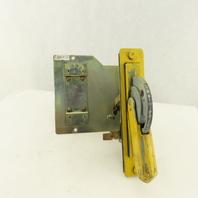 Allen Bradley 1494D-N1 Electrical Panel Main Circuit Breaker Mechanism Lever