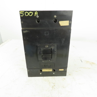 Square D MAL-36500 500A 600V 3 Pole AC/DC Circuit Breaker Adjustable Trip