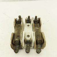 Union Multi 2520 388-424 Ceramic Fuse Holder 30A 600V Lot Of 3