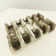 011209 Ceramic Fuse Holder 30A 600V Lot Of 5