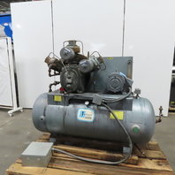 Ingersoll Rand 10-T Reciprocating 2 Stage Air Compressor 120 Gal 10Hp 230/460V