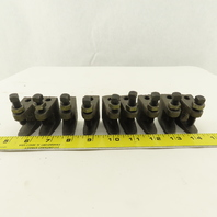 """Erico 300 3/8"""" Conduit Pipe Hanger Beam Clamp Malleable Iron Lot Of 9"""