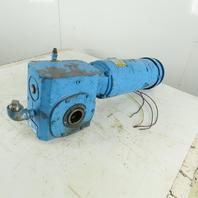 Boston Gear SF732-60T-B7-G 60:1 Ratio 24RPM Thru Shaft Gear Motor 1.5Hp 200-480V