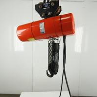CM Lodestar L2 Electric Chain Hoist 1 Ton 5/16FPM 2 Speed 15' Lift 460V