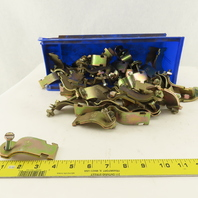 """T & B Thomas & Betts 1-1/2"""" Channel Mount Pipe Strap Hangers Lot Of 46"""