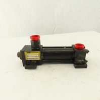"""Parker CP3LLT29 2"""" Bore 4"""" Stroke Hydraulic Cylinder Foot Mount Double Acting"""