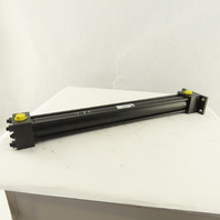 """Parker CLJ2HCT24AC 1-1/2"""" Bore 18"""" Stroke Double Acting Hydraulic Cylinder"""