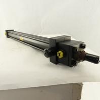"Parker CDD2HLTS24AC 1-1/2"" Bore 22"" Stroke Trunnion Hydraulic Cylinder"