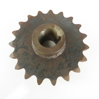 """ANSI #160 Single Row Roller Chain Sprocket 19 Tooth 13"""" OD 2-5/16 Keyed Bore"""