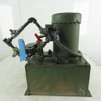 John S Barnes 230/460V 2Hp 3Ph Hydraulic Power Unit 5 USG Tank